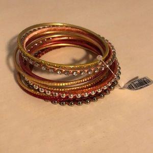 Ann Taylor Loft- multi color bangles